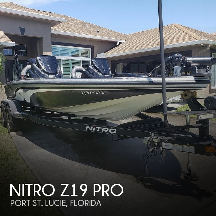 Used NITRO Boats For Sale by owner   2017 Nitro Z19 Pro