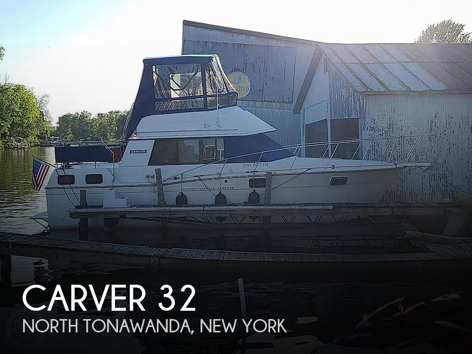 Used Carver Motoryachts For Sale in New York by owner | 1988 Carver 32