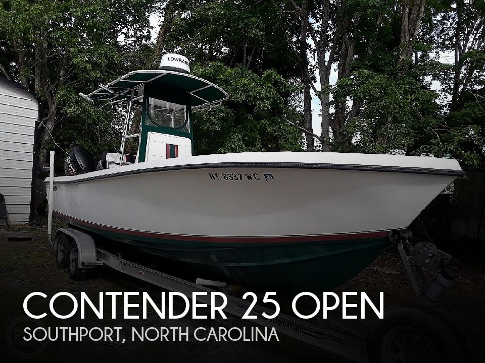 Used Power boats For Sale in North Carolina by owner | 1997 Contender 25 Open