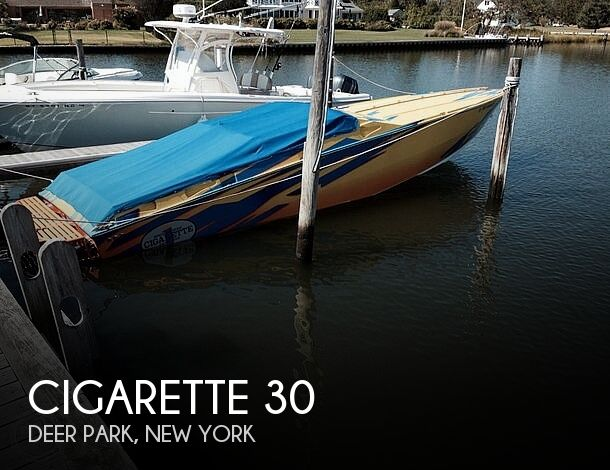 Used Cigarette Boats For Sale by owner | 2002 Cigarette 30 Mystique