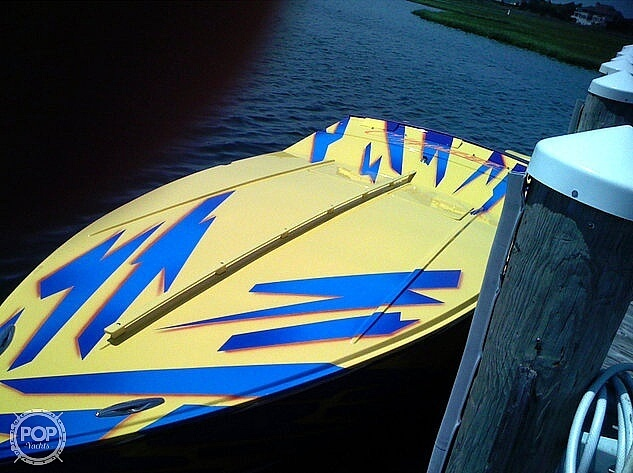 2002 Cigarette boat for sale, model of the boat is 30 Mystique & Image # 3 of 7