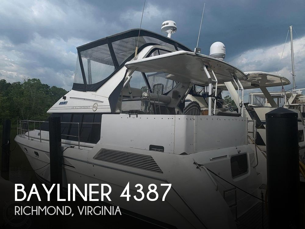 Used Bayliner Motoryachts For Sale by owner | 1993 Bayliner 43