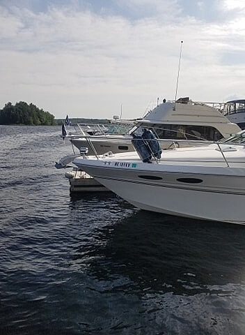 1998 Sea Ray boat for sale, model of the boat is 290 Sundancer & Image # 2 of 34