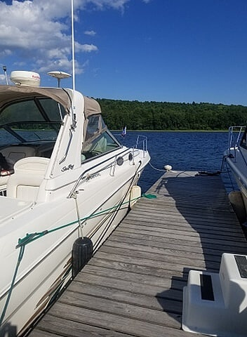1998 Sea Ray boat for sale, model of the boat is 290 Sundancer & Image # 4 of 34