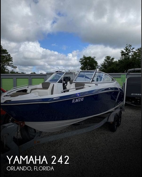 Used Yamaha Boats For Sale in Florida by owner | 2016 Yamaha 242 LE Limited