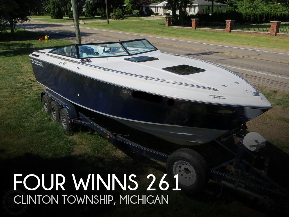 1986 FOUR WINNS LIBERATOR 261 for sale