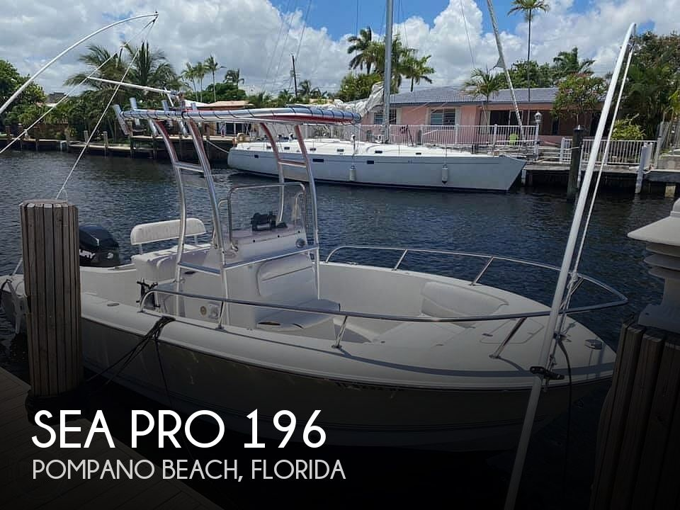 Used Sea Pro Boats For Sale by owner | 2007 Sea Pro 196