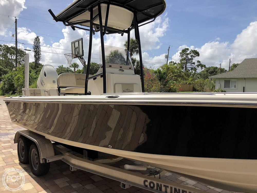 2018 Carolina Skiff boat for sale, model of the boat is Sea Chaser & Image # 6 of 40