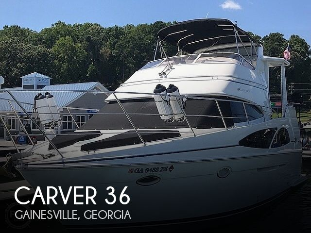 Used Carver Boats For Sale in Georgia by owner | 2007 Carver 36 Motor Yacht