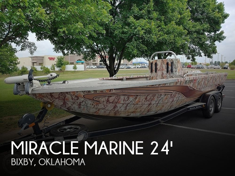 2017 Miracle Marine boat for sale, model of the boat is River Jet Ranger Recon & Image # 1 of 41