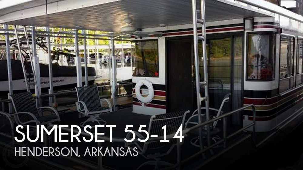 Used Houseboats For Sale in Arkansas by owner | 1997 Sumerset 60
