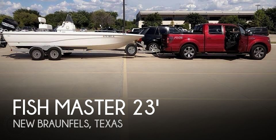 Used Fish Master Boats For Sale by owner | 1999 23 foot Fish Master travis edition
