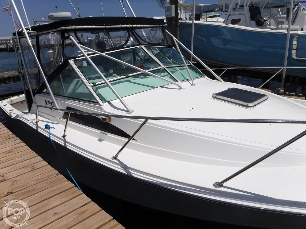 1989 North Coast boat for sale, model of the boat is 31 Express & Image # 25 of 40