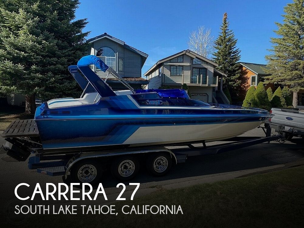 Used CARRERA Boats For Sale by owner | 1987 Carrera 27