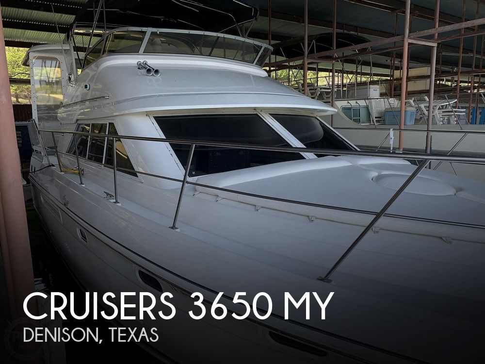 1997 Cruisers Yachts boat for sale, model of the boat is 3650 MY & Image # 1 of 40