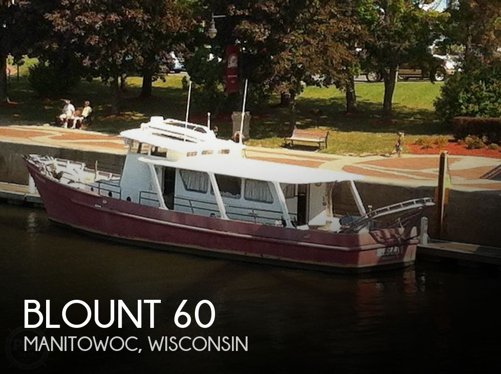 Used Boats For Sale in Appleton, Wisconsin by owner | 1967 Blount 60 Research Vessel/Dive Boat