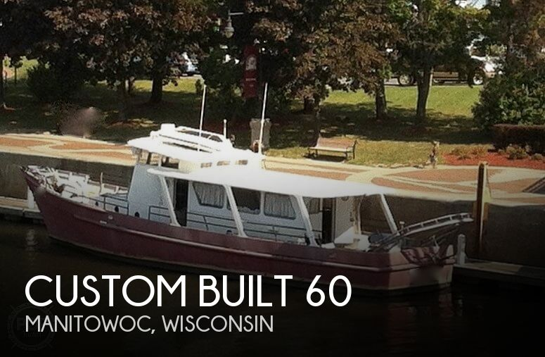 1967 CUSTOM BLOUNT 60 CONVERTED RESEARCH VESSEL for sale