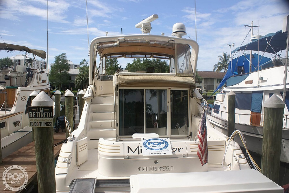 1996 Sea Ray boat for sale, model of the boat is 440 Express Bridge & Image # 3 of 40