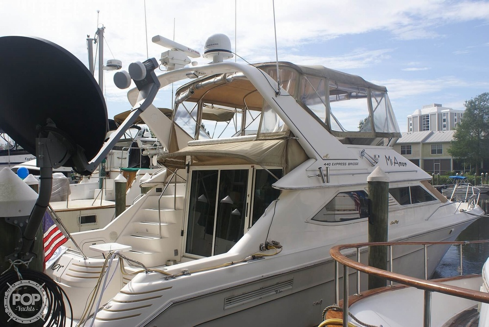 1996 Sea Ray boat for sale, model of the boat is 440 Express Bridge & Image # 7 of 40