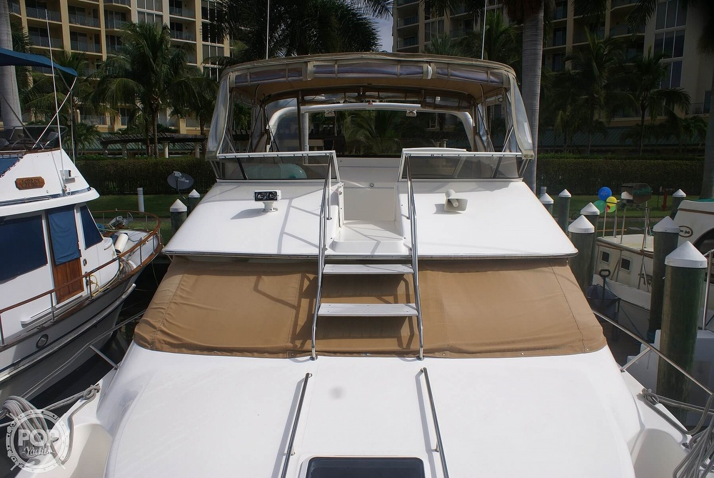 1996 Sea Ray boat for sale, model of the boat is 440 Express Bridge & Image # 16 of 40