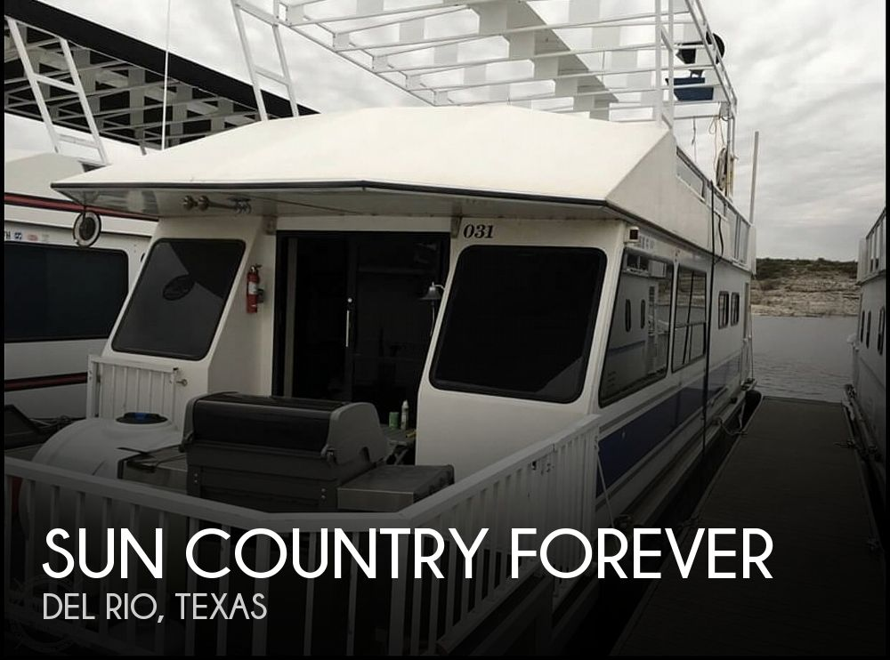 Used Houseboats For Sale in Texas by owner | 2007 50 foot Sun Country FOREVER