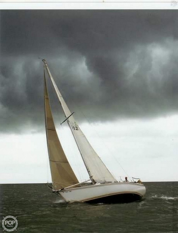 1975 Pearson boat for sale, model of the boat is 10-M Tall Rig & Image # 7 of 14
