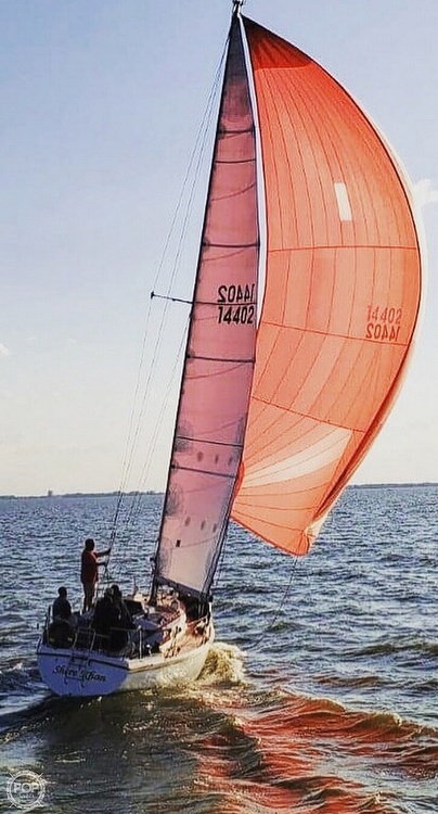 1975 Pearson boat for sale, model of the boat is 10-M Tall Rig & Image # 8 of 14