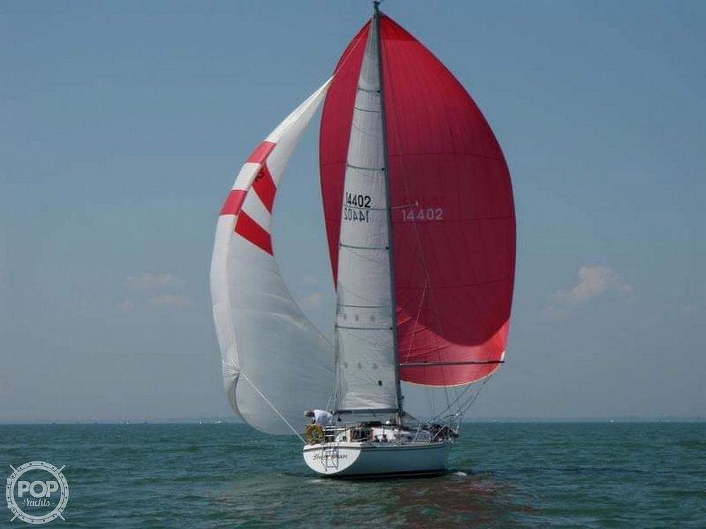 1975 Pearson boat for sale, model of the boat is 10-M Tall Rig & Image # 9 of 14