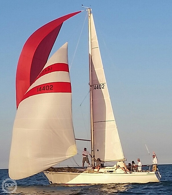 1975 Pearson boat for sale, model of the boat is 10-M Tall Rig & Image # 10 of 14