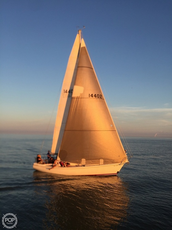 1975 Pearson boat for sale, model of the boat is 10-M Tall Rig & Image # 11 of 14