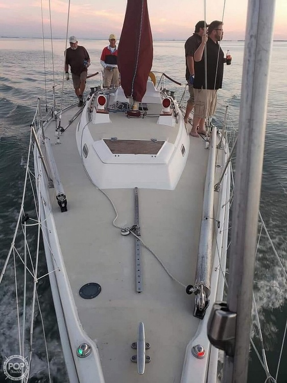 1975 Pearson boat for sale, model of the boat is 10-M Tall Rig & Image # 13 of 14
