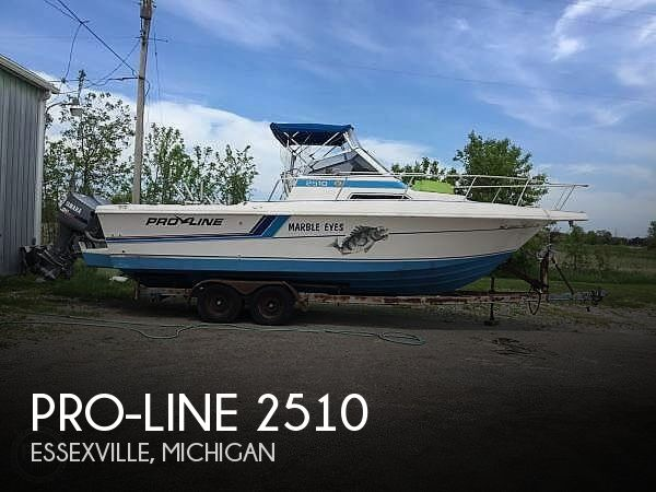 Used Pro-Line Boats For Sale in Michigan by owner | 1992 Pro-Line 2510