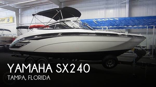 Used Yamaha Boats For Sale in Florida by owner | 2019 Yamaha SX240