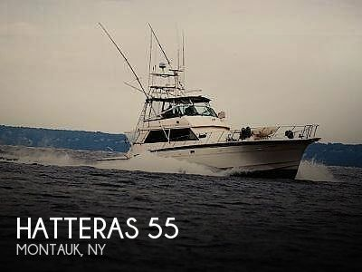 Used Boats For Sale in New York by owner | 1984 Hatteras Convertible 55