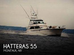 1984 Hatteras Convertible 55