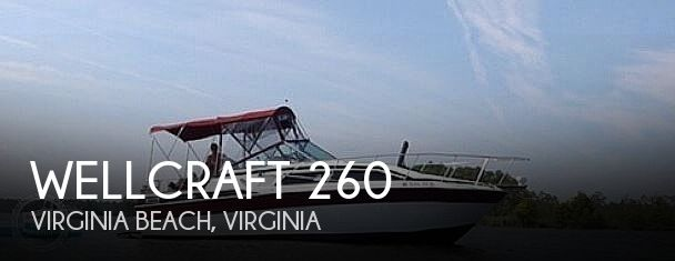 Used Wellcraft Boats For Sale in Virginia by owner | 1985 Wellcraft 26