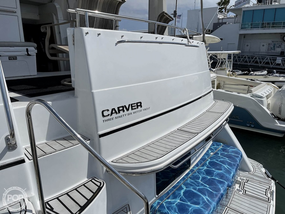 2001 Carver boat for sale, model of the boat is 396 MY & Image # 13 of 40