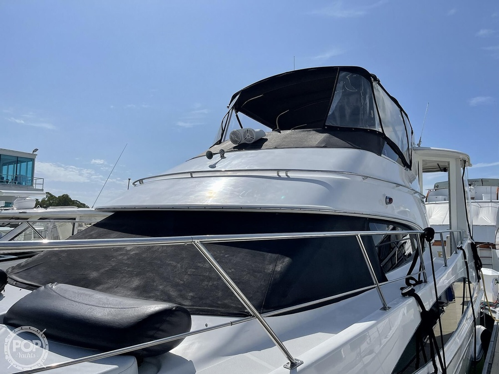 2001 Carver boat for sale, model of the boat is 396 MY & Image # 4 of 40