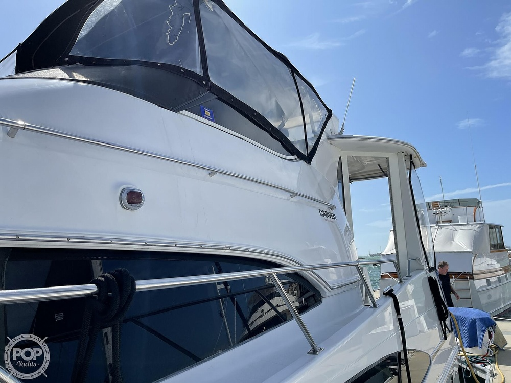 2001 Carver boat for sale, model of the boat is 396 MY & Image # 17 of 40