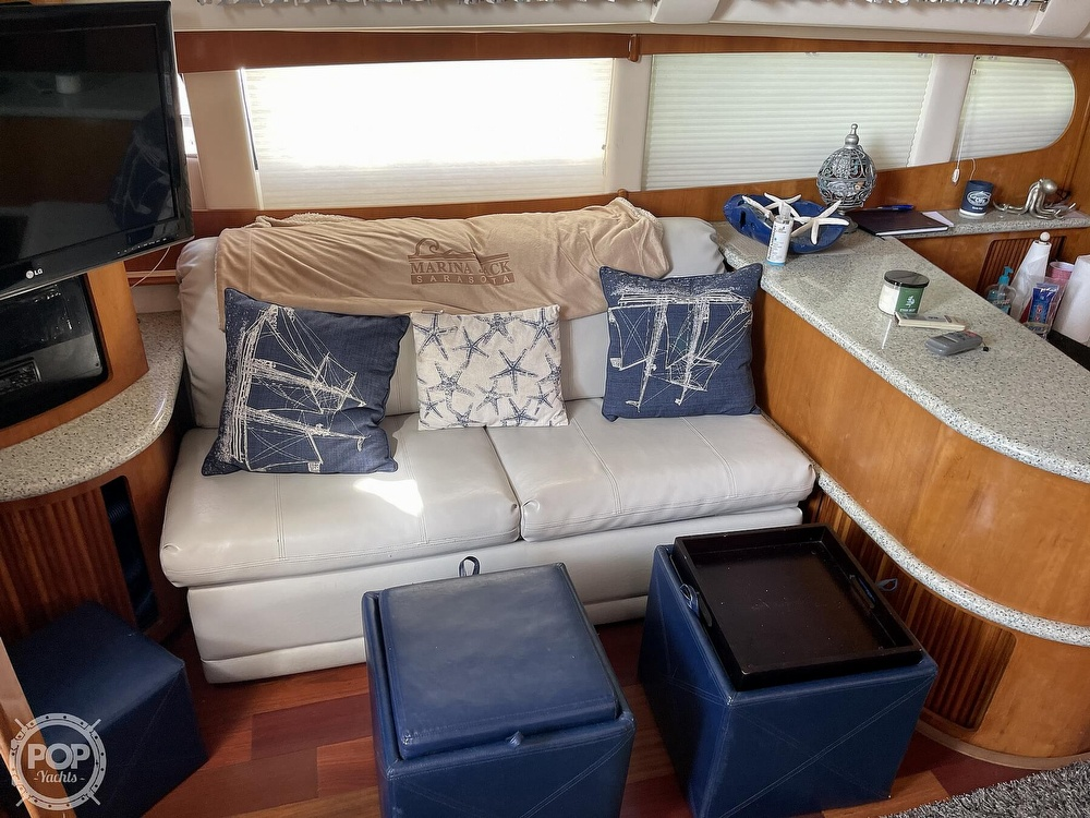 2001 Carver boat for sale, model of the boat is 396 MY & Image # 8 of 40