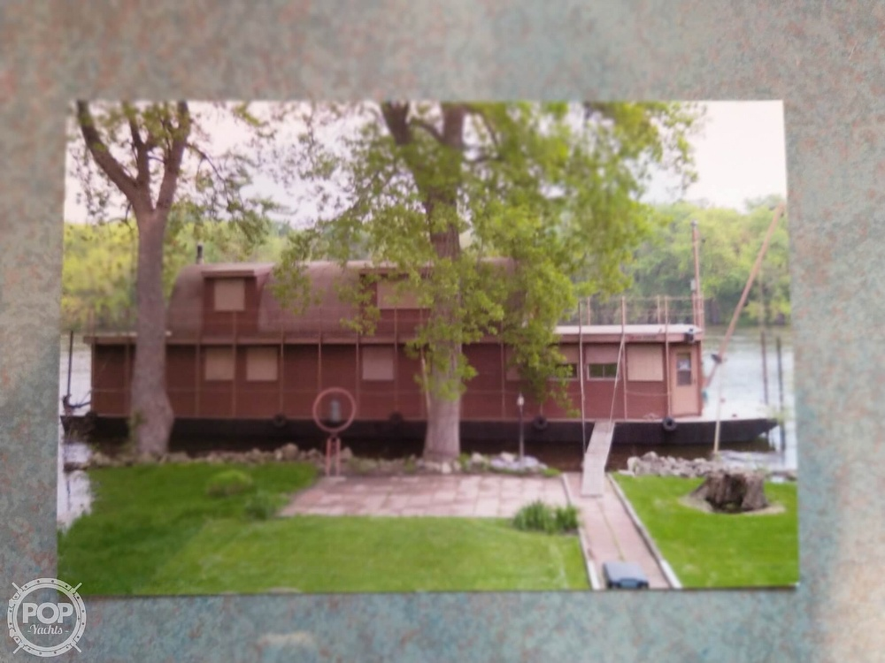 1983 Custom boat for sale, model of the boat is 75 House Boat & Image # 4 of 4