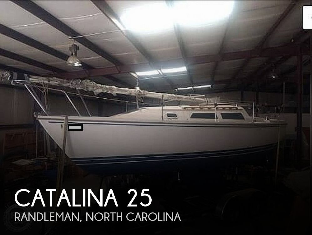 1989 Catalina Yachts boat for sale, model of the boat is 25 & Image # 1 of 41