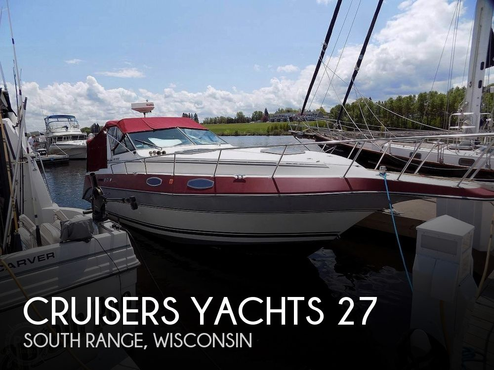 Used Boats For Sale in Duluth, Minnesota by owner | 1987 Cruisers Yachts 27