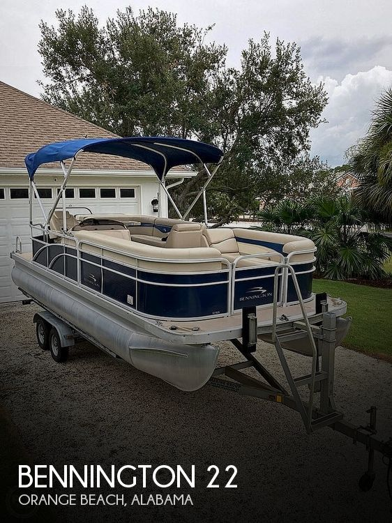 Used Pontoon Boats For Sale in Alabama by owner | 2014 Bennington 22SLX