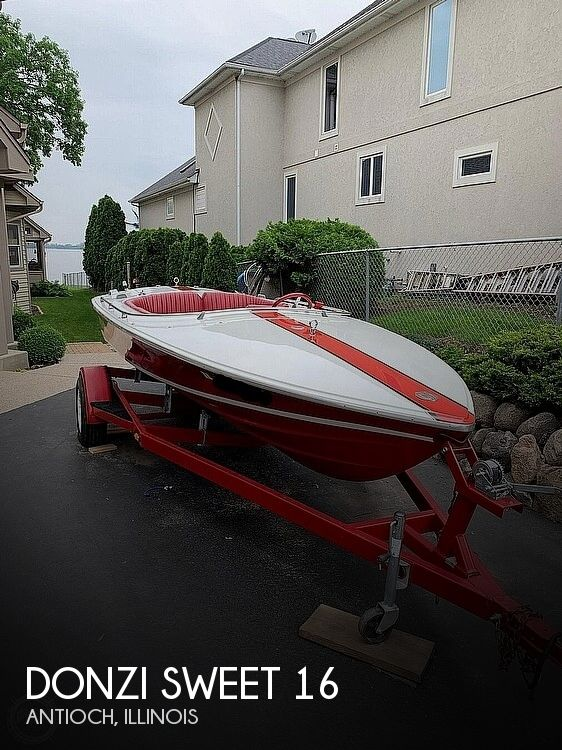 1969 Donzi boat for sale, model of the boat is Sweet 16 & Image # 1 of 17