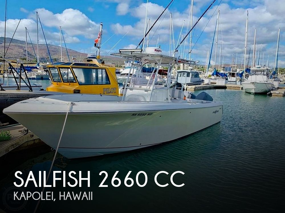 Used Sailfish Boats For Sale by owner | 2007 Sailfish 2660cc