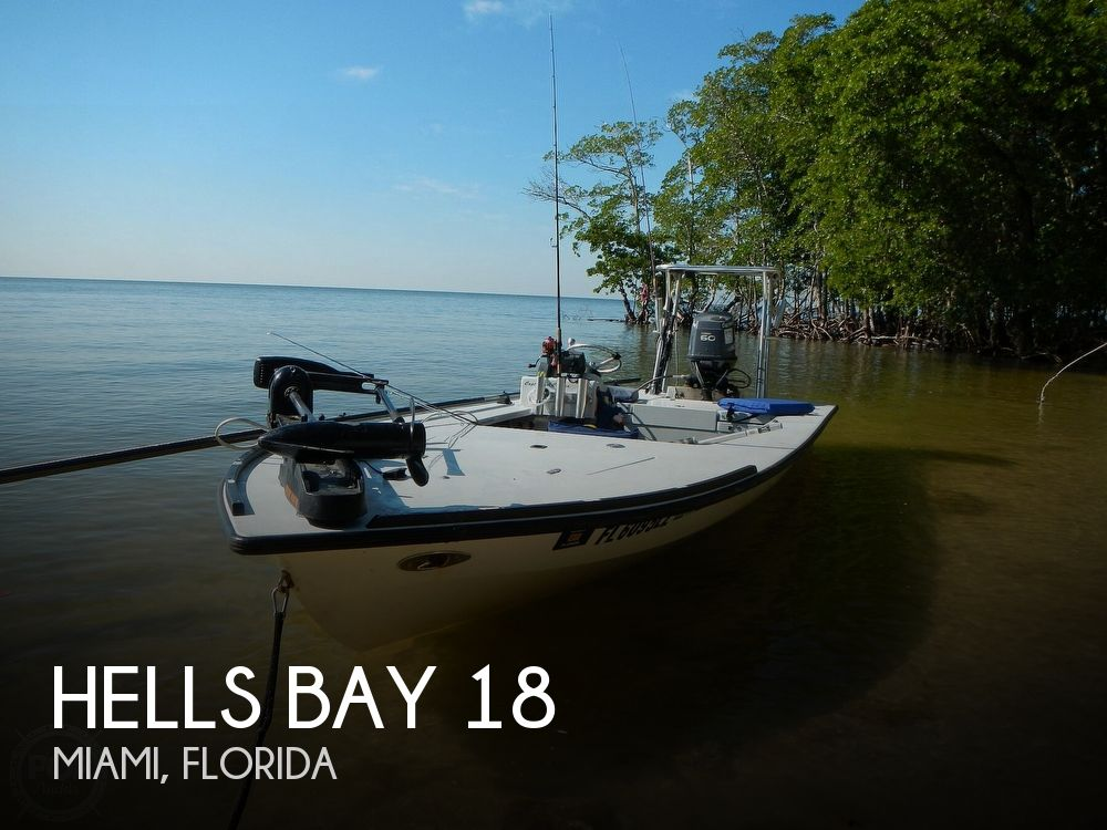 Used Hells Bay Boats For Sale by owner | 2003 Hells Bay 18 Waterman