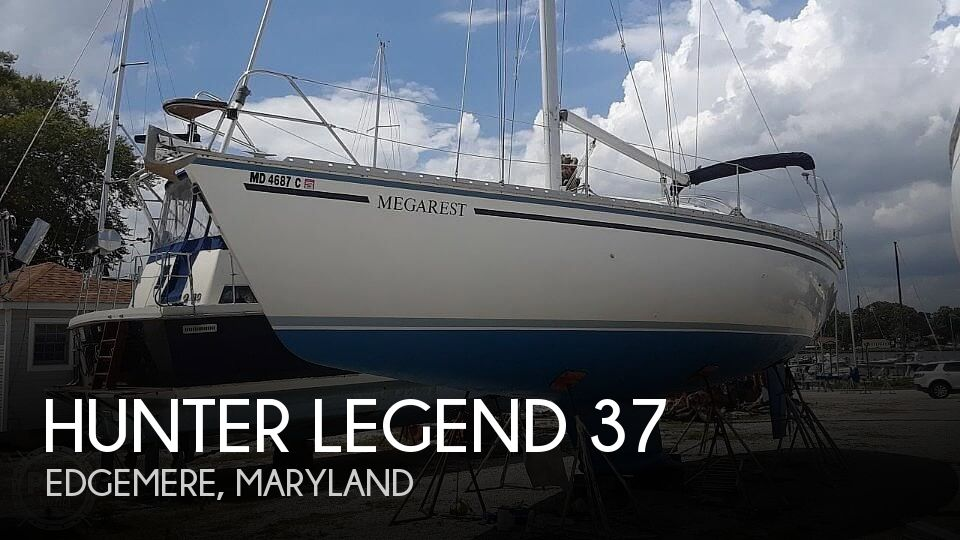 Used Hunter Sailboats For Sale in Maryland by owner | 1987 Hunter Legend 37