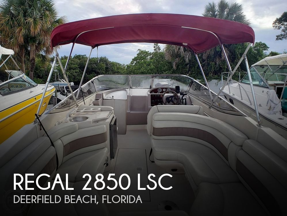 2000 Regal boat for sale, model of the boat is 2850 LSC & Image # 1 of 40