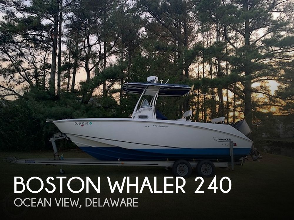 Used Boats For Sale in Delaware by owner | 2004 Boston Whaler 240 Outrage